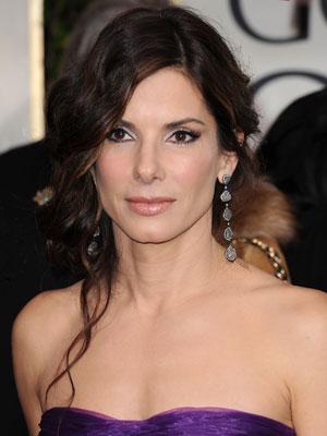 Sandra Bullock Golden Globes Makeup Tutorial