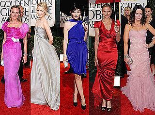 FabSugar Best Dressed at 2010 Golden Globe Awards
