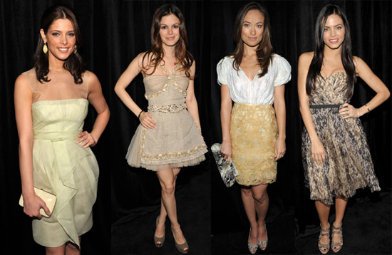 Photos of Ashley Greene, Rachel Bilson, Jenna Dewan, Olivia Wilde, and More at InStyle Golden Globes Luncheon 2010-01-14 15:30:00