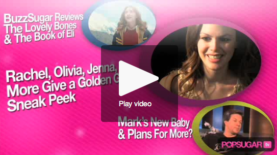 Exclusive Golden Globes Sneak Peek, Mark Talks New Baby, and Our Lovely Bones, Book of Eli Reviews!