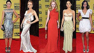 Photos of Diane Kruger, Zoe Saldana, Marion Cotillard, and Emily Blunt at 2010 Critics' Choice Awards 2010-01-16 10:00:11
