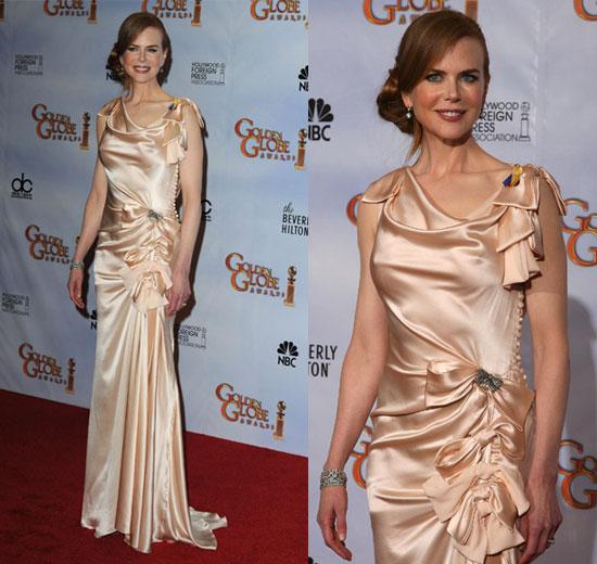 Nicole Kidman in Nina Ricci at the 2010 Golden Globe Awards