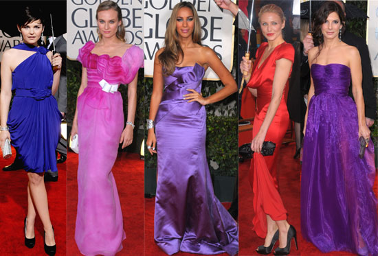 Photos of all the Women and Their Gowns at the Golden Globes 2010