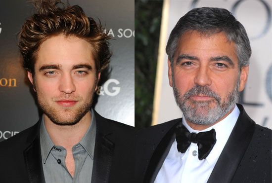 Robert Pattinson Joins George Clooney's Hope for Haiti Telethon Which Will Air on MTV in the UK on Saturday