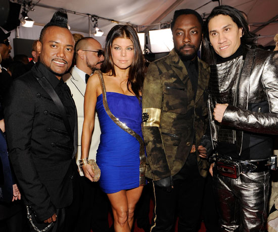 Slide Photo of The Black Eyed Peas at Grammy Awards
