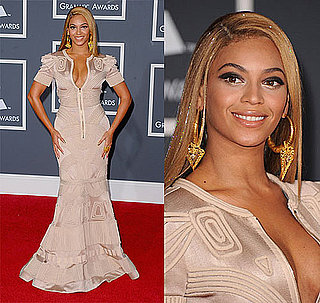 Beyonce Knowles at 2010 Grammy Awards