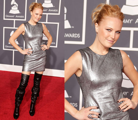 Malin Akerman at 2010 Grammy Awards 2010-01-31 18:50:51