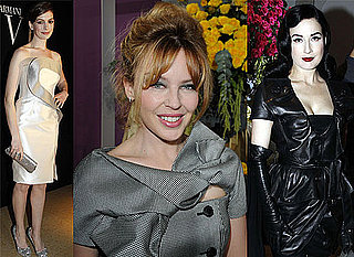 2010 Paris Spring Haute Couture Shows with Kylie Minogue, Dita von Teese, Paz Vega, Maggie Cheung