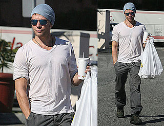 Photos of Ryan Phillippe Picking Up Take-Out Lunch in LA