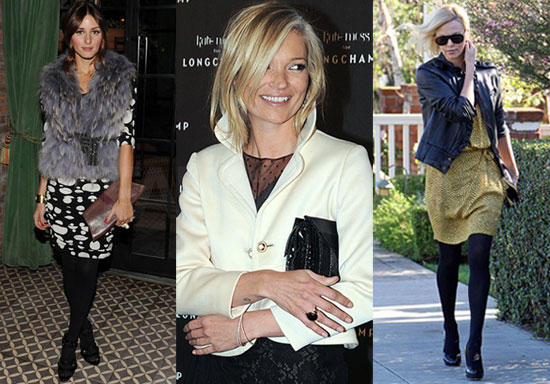 Photos of Olivia Palermo, Kate Moss, and Charlize Theron