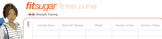 Fit's Fitness Journal