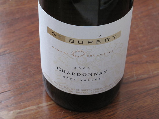 Happy Hour: 2008 St. Supéry Barrel Fermented Chardonnay