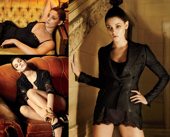 Photos of Ashley Greene in Lingerie for Marie Claire 2010-02-03 12:30:07