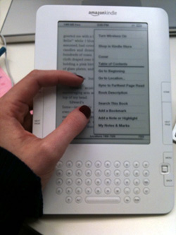Amazon Kindle May Get a Touchscreen