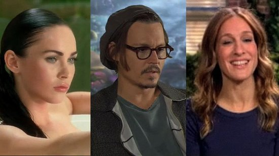Megan Fox in Her Underwear, Johnny Depp in Alice in Wonderland, and John Mayer's Apology