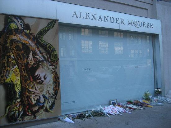 Flowers for McQueen