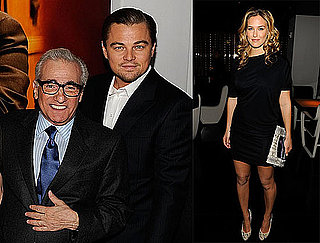Photos of Leonardo DiCaprio, Martin Scorsese and Bar Refaeli at the Armani Party for the Premiere of Shutter Island