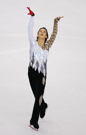 Johnny Weir, Turin 2006