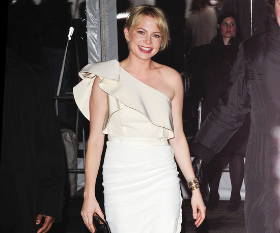 Slide Photo of Michelle Williams at the NYC Premiere of Shutter Island