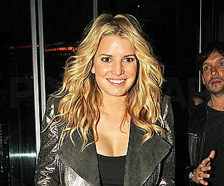 Slide Photo of Jessica Simpson Out to Dinner in LA
