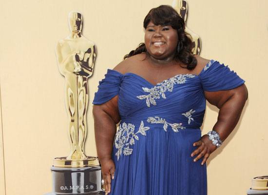 Best Red Carpet Attitude: Gabourey Sidibe