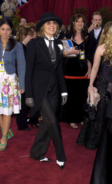 Diane Keaton at the 2004 Academy Awards