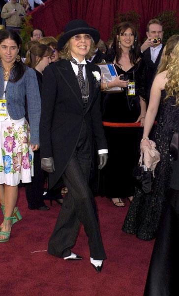 Diane Keaton at the 2004 Academy Awards