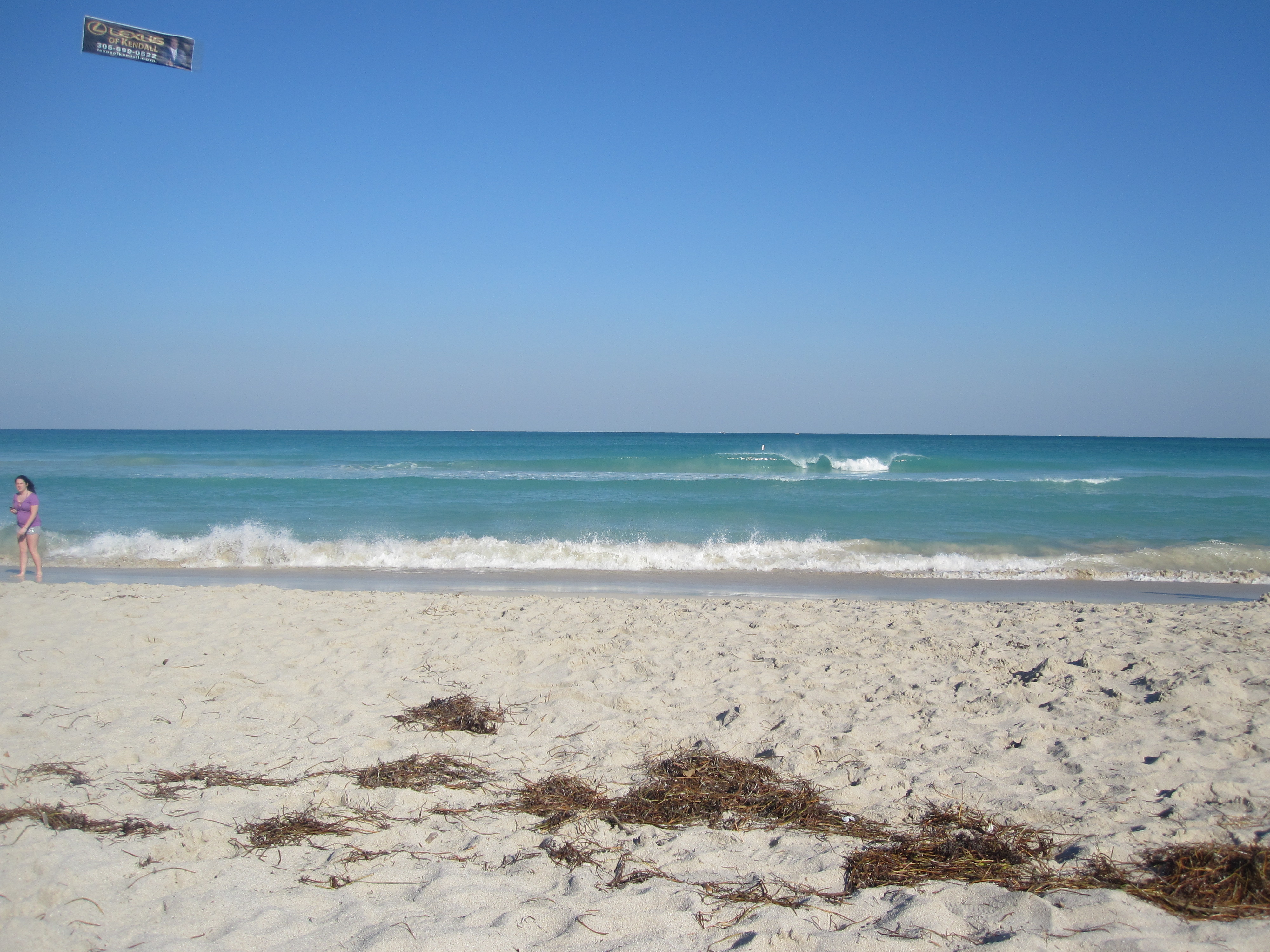 One last look at the beautiful Florida beach!