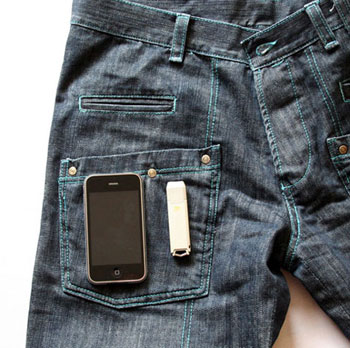 WTF Jeans Hold Your Gadgets