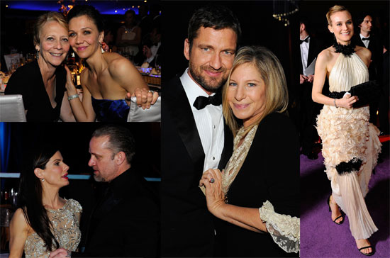 Photos of Sandra Bullock, Diane Kruger, Oprah Winfrey, Gabourey Sidibe, and More at the 2010 Oscars Governors Ball in LA
