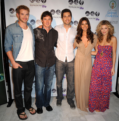 Kellan Lutz, Eric Close, Eric Winter, Roselyn Sanchez, AnnaLynne McCord at the after pool party