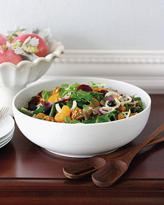 Fennel, Tangerine, and Candied Walnut Salad Recipe