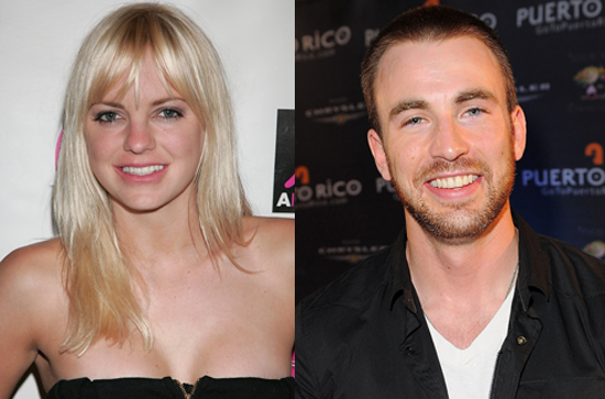 Anna Faris and Chris Evans Sign on For R-Rated Comedy What's Your Number? 2010-03-09 10:30:13