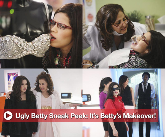 Sneak Peek Photos of Betty Suarez's Makeover on Ugly Betty