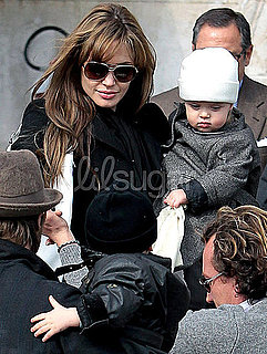 Photos of Knox and Vivienne Jolie-Pitt