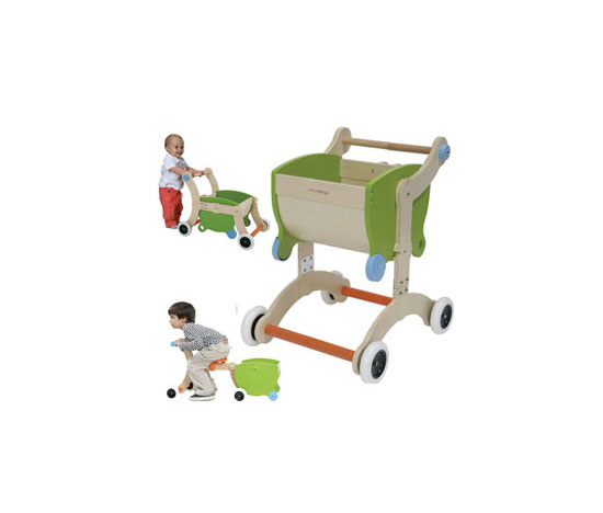 Transformable Baby Walker and Wheelbarrow