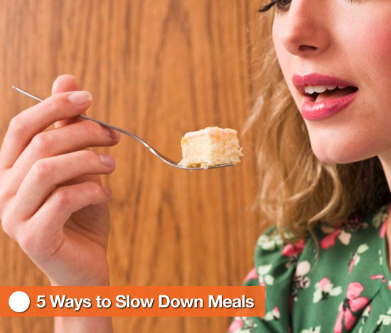 Eat Slowly to Prevent Weight Gain