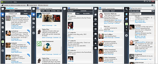 Sobees is a Twitter Client For Windows Users