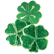 Four Leaf Clover Cookies