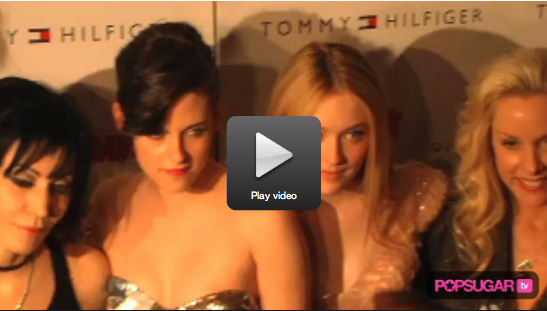 Exclusive Video: Kristen Talks Breaking Dawn and Upcoming Vacation at The Runaways Premiere!