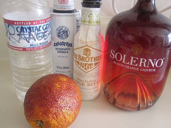 Blood Orange and Vodka Cocktail Recipe 2010-03-19 11:12:33