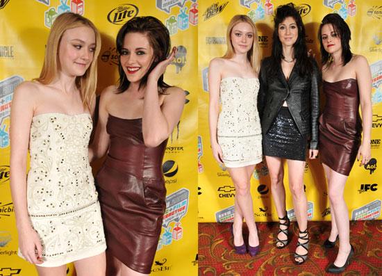 Photos of Kristen Stewart, Dakota Fanning, and Floria Sigismondi Promoting The Runaways at SXSW in Austin, TX 2010-03-21 18:00:25