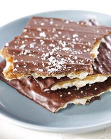 Homemade Toffee-Chocolate Matzah Passover Recipe