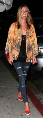Nicky Hilton at Nobu's Second Anniversary Party