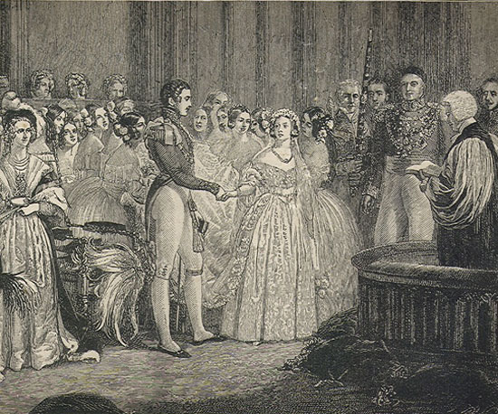 "The Victorian ""White Wedding"""