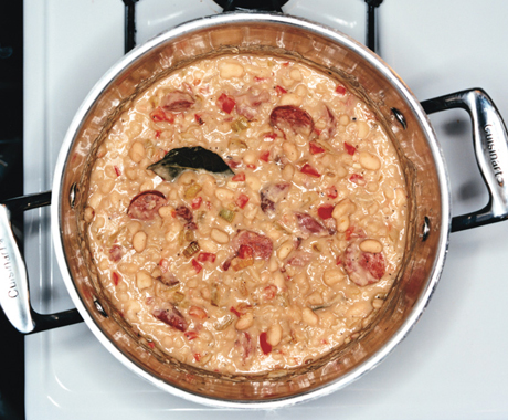 Recipe For White Beans With Andouille Sausage