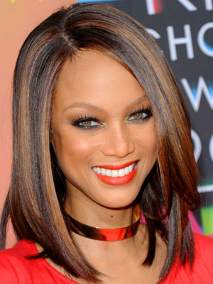 Tyra Banks at 2010 Kids Choice Awards