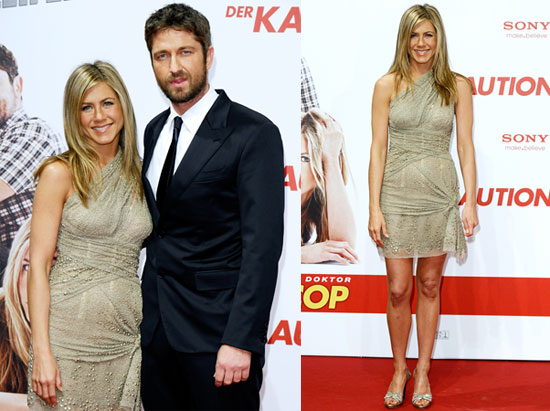 Photos of Jennifer Aniston and Gerard Butler at the Berlin Premiere of The Bounty Hunter 2010-03-29 14:30:00