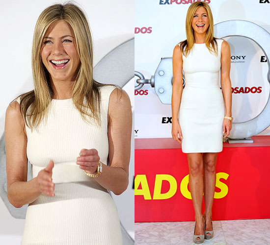 Jennifer Aniston at Bounty Hunter Photo Call in Spain