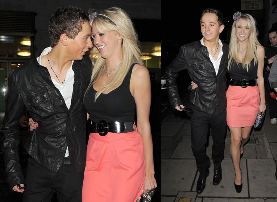 Photos of Big Brother 10 Sophie Reade Holding Hands With Boyfriend George Lineker Gary Lineker's Son at Walkers Launch